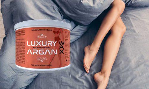 argan wax ceretta