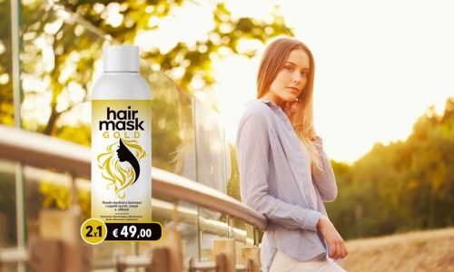 hair mask gold maschera capelli
